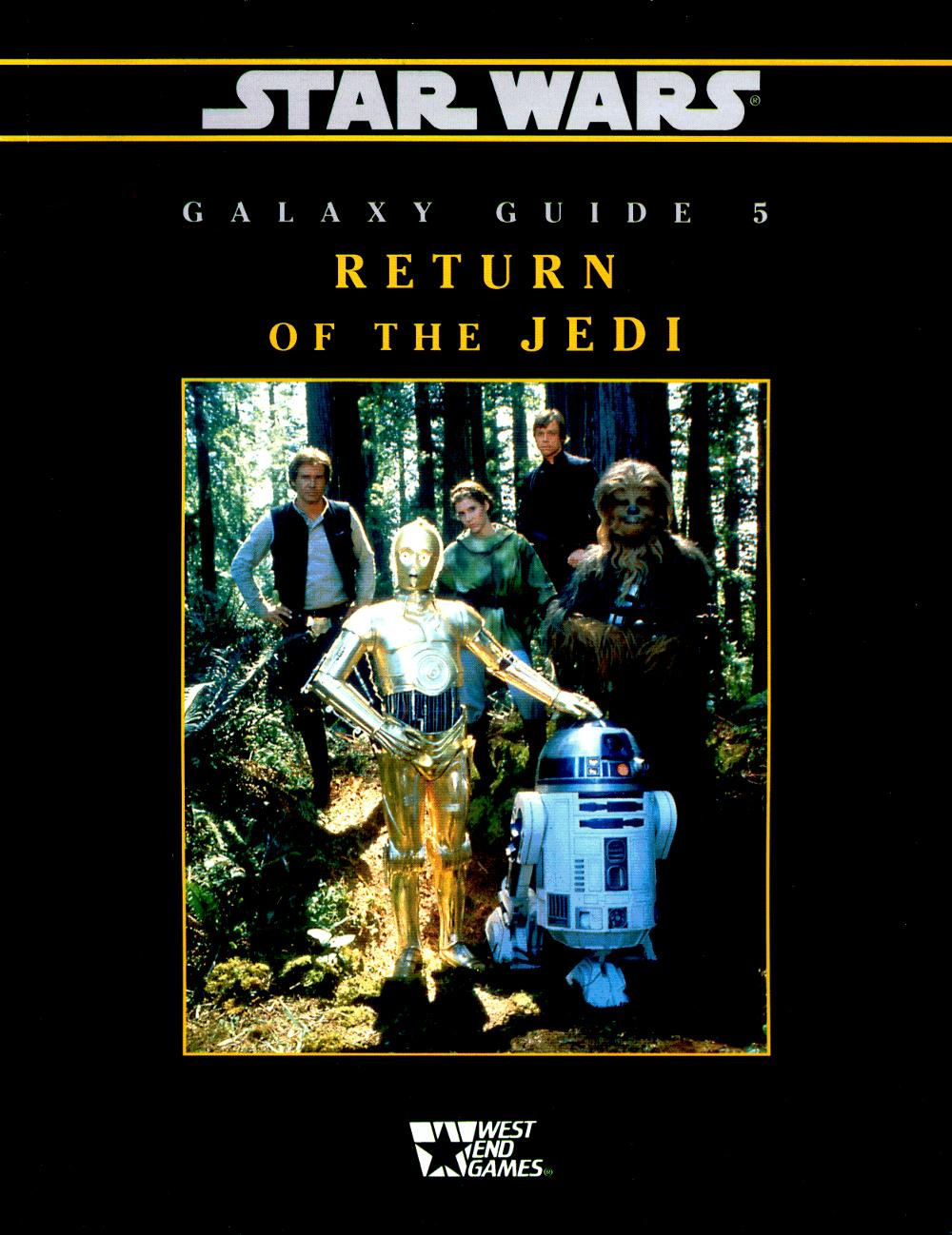 Star Wars RPG: Galaxy Guide 5: Return of the Jedi - Used