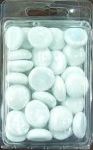 White Gaming Stones (5)