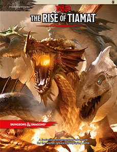 Dungeons and Dragons 5th Ed: The Rise of Tiamat HC - Used