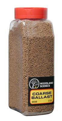 Terrain Shaker: Brown Coarse Ballast (32 oz): B1386