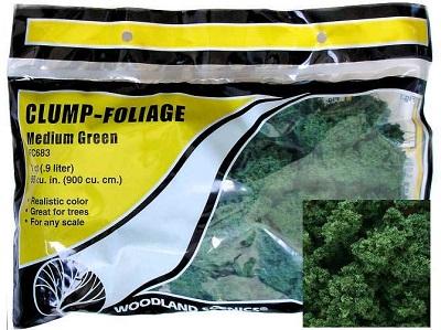 Clump Foliage: Medium Green (55 cubic inches): FC683