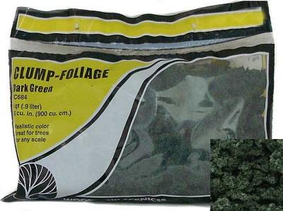 Clump Foliage: Dark Green (55 cubic inches): FC684