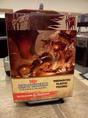 Dungeons and Dragons: Icons of the Realms: Tyranny of Dragons Booster