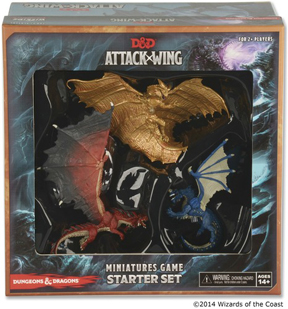 Dungeons and Dragons Attack Wing: Starter Set