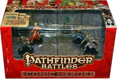 Pathfinder Battles: Iconic Heroes Box Set 1