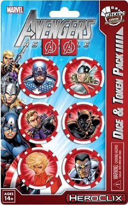 Marvel Heroclix: Avengers Assemble: Captain America Dice and Token Pack