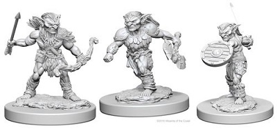 Dungeons and Dragons Nolzurs Marvelous Unpainted Minis: Goblins