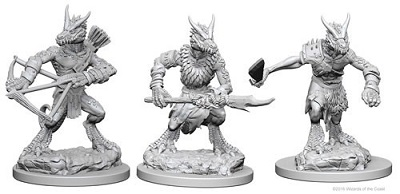 Dungeons and Dragons Nolzurs Marvelous Unpainted Minis: Kobolds