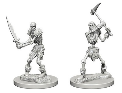 Dungeons and Dragons Nolzurs Marvelous Unpainted Minis: Skeletons