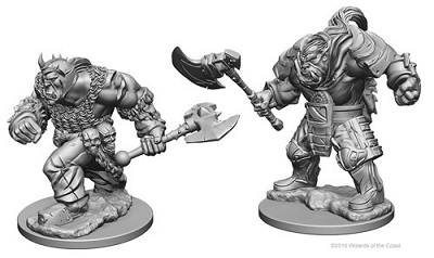 Dungeons and Dragons Nolzurs Marvelous Unpainted Minis: Orcs