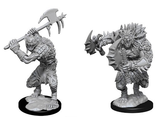 Dungeons and Dragons Nolzurs Marvelous Unpainted Minis: Gnolls