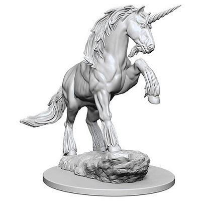 Pathfinder Deep Cuts Unpainted Minis: Unicorn