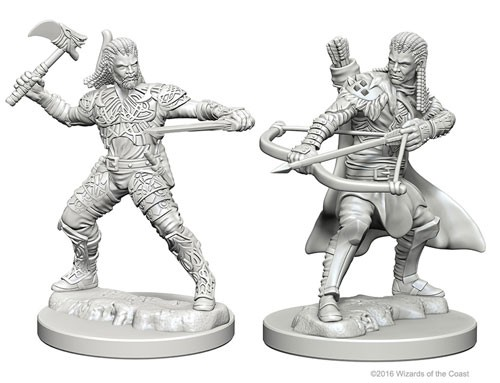 Dungeons and Dragons Nolzurs Marvelous Unpainted Minis: Human Male Ranger