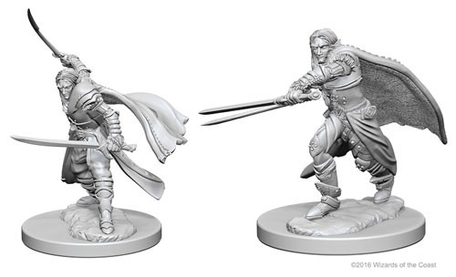 Dungeons and Dragons Nolzurs Marvelous Unpainted Minis: Elf Male Ranger