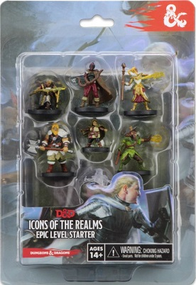 Dungeons and Dragons: Icons of the Realms: Epic Level Starter