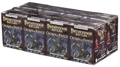 Pathfinder Battles: Crown of Fangs Booster Pack