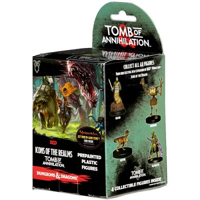 Dungeons and Dragons: Icons of the Realms: Tomb of Annihilation Booster Pack