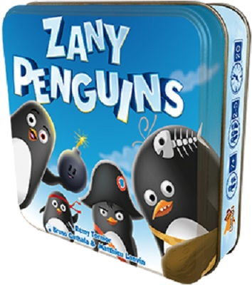Zany Penguins Card Game