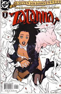 Zatanna Comic Bundle (2005 Series) (4 Issues) - Used