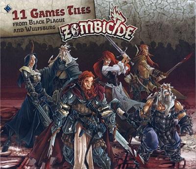 Zombicide: Black Plague: Extra Tiles Pack