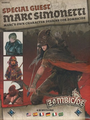 Zombicide: Black Plague: Marc Simonetti