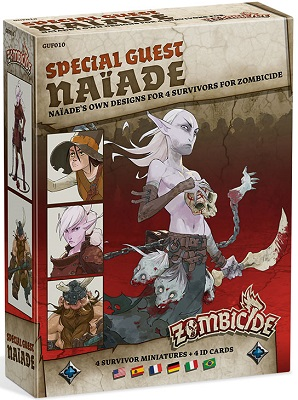 Zombicide: Black Plague: Special Guest: Naiade
