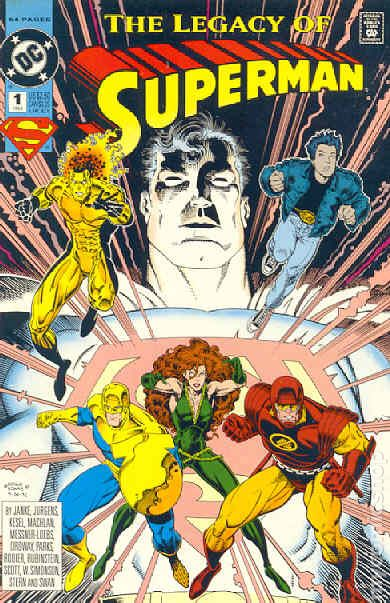 Superman: The Legacy of Superman (1993) (One Shot) - Used