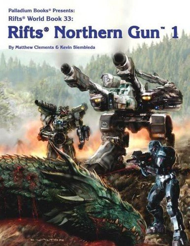 Rifts: World Book 33: Northern Gun 1 - Used