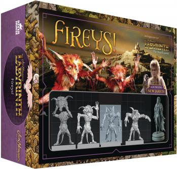 Labyrinth: Fireys! Expansion (Jim Hensons)
