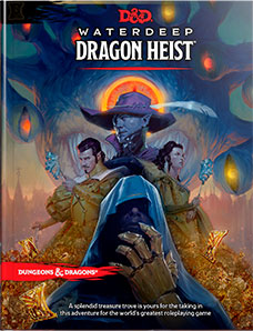 Dungeons and Dragons 5th Ed: Waterdeep Dragon Heist HC