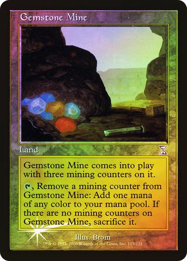 Gemstone Mine - Foil (Time Spiral)