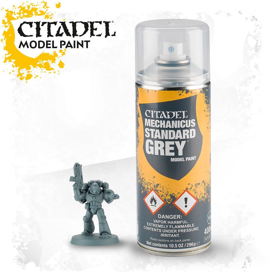 Citadel: Grey Seer Spray Paint 62-34