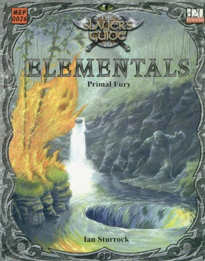 D20: The Slayers Guide to Elementals - Used