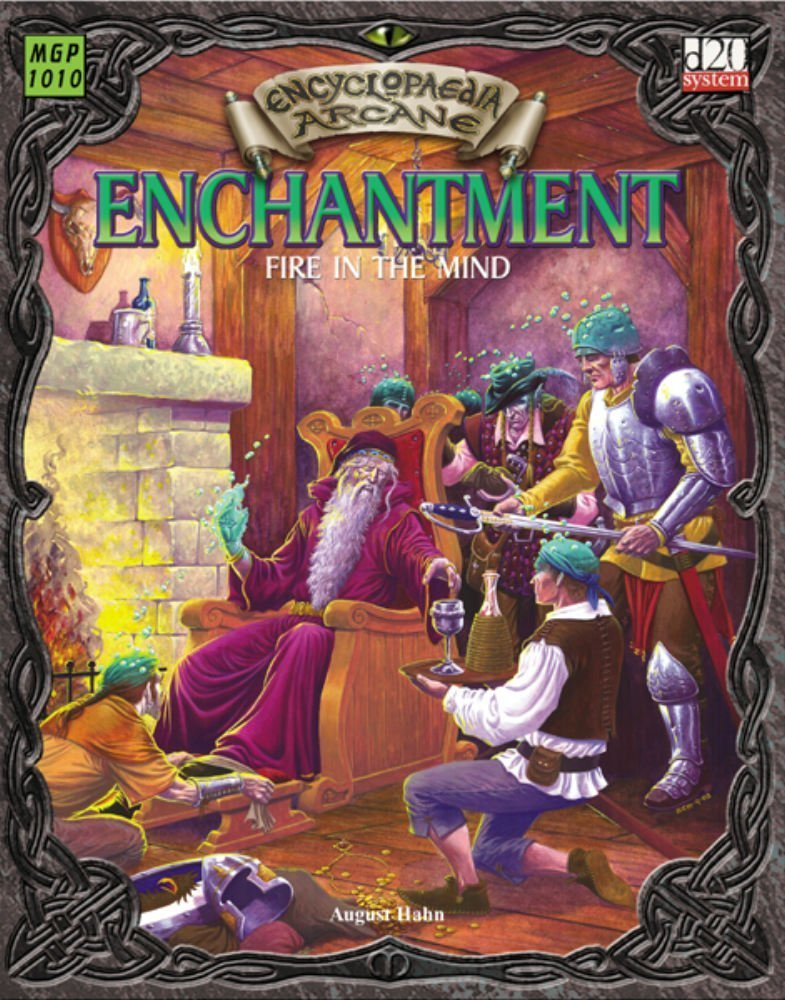 D20: Encyclopaedia Arcane: Enchantment: Fire in the Mind - Used