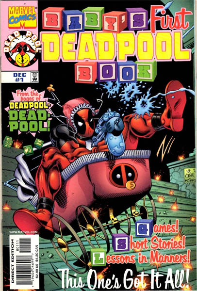 Babys First Deadpool Book (1997) - Used