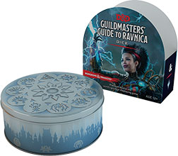 Dungeons and Dragons 5th Ed: Guildmasters's Guide to Ravnica Dice Set