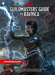 Dungeons and Dragons 5th Ed: Guildmaster's Guide to Ravnica HC