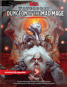 Dungeons and Dragons 5th Ed: Waterdeep: Dungeon of the Mad Mage HC