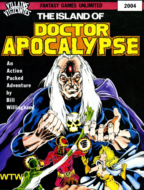 Villains and Vigilantes: The Island of Doctor Apocalypse - Used