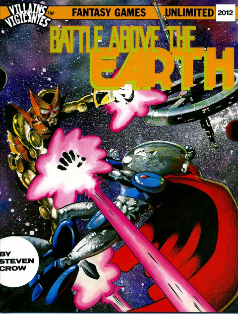 Villains and Vigilantes: Battle Above the Earth - Used