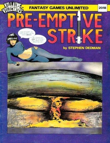 Villains and Vigilantes: Preemptive Strike - Used
