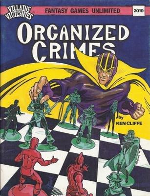 Villains and Vigilantes: Organized Crimes - Used