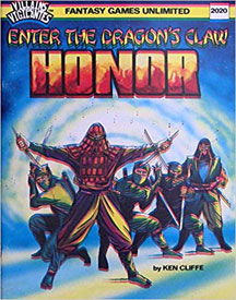 Villains and Vigilantes: Honor: Enter the Dragon's Claw - USED