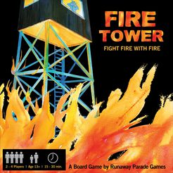 Fire Tower Board Game - USED - By Seller No: 12677 Kathryn R Robertson