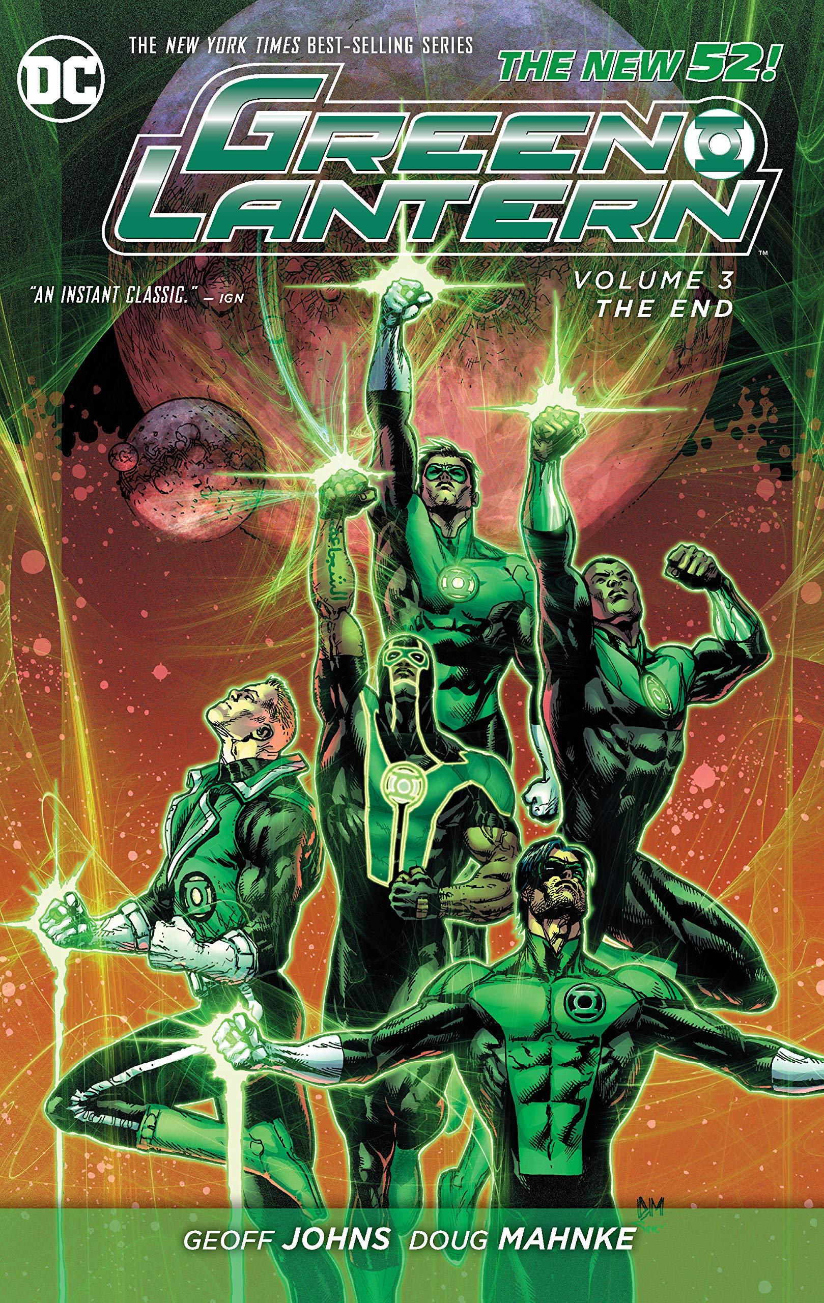 Green Lantern: Volume 3: The End HC - Used