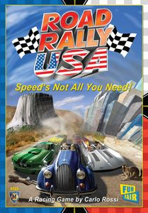 Road Rally USA Board Game - USED - By Seller No: 4178 Michael Broyles