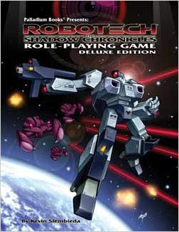 Robotech: the Shadow Chronicles Role-Playing Game Deluxe Ed HC - Used
