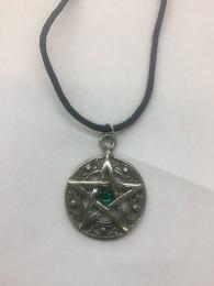 Pentagram with Gem Necklace