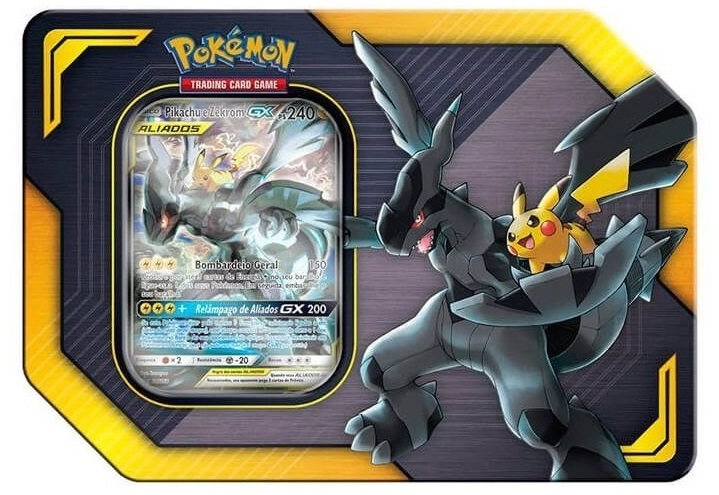 Pokemon TCG: Tag team Tin: Pikachu and Zekrom