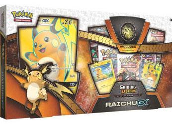 Pokemon TCG: Shining Legends: Raichu GX Special Collection